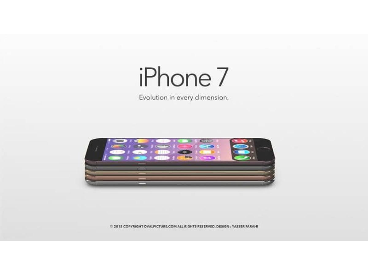 Китайский iphone 7 - скоро в продаже