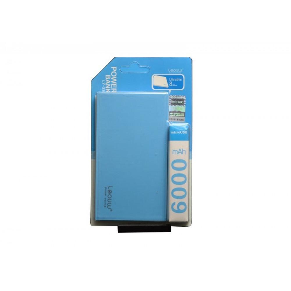 Power Bank Leouw LY-330 (6000 mAh / 1 USB) Портативный аккумулятор