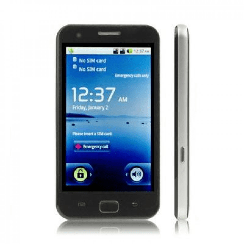 копия Samsung Galaxy Android GPS white/black