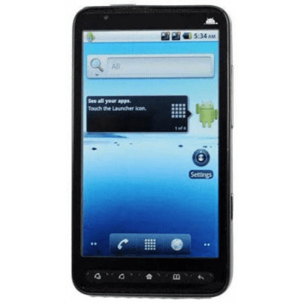 HTC star A2000 Android 2.2 с логотипом HTC