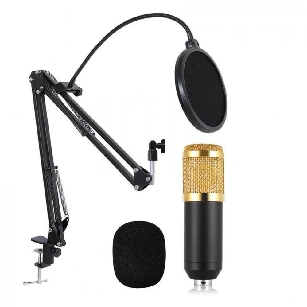 Конденсаторный Микрофон студийный M-800U (PRO-MIC)