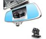 Видеорегистратор-зеркало с 2-я камерами Eplutus D36