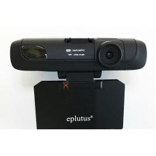 Видеорегистратор с антирадаром и GPS Eplutus GR-90