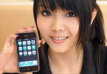 История китайских телефонов