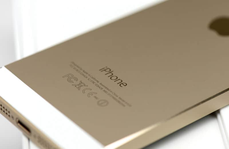 iphone 5s gold копия