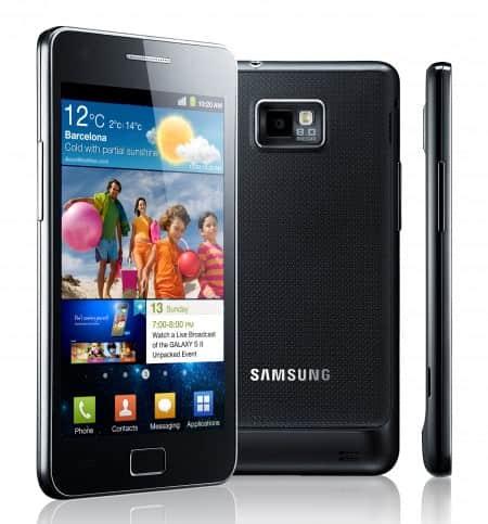 Samsung Galaxy SII GT I9100